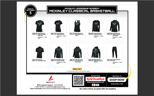 Basketball Team Flyer