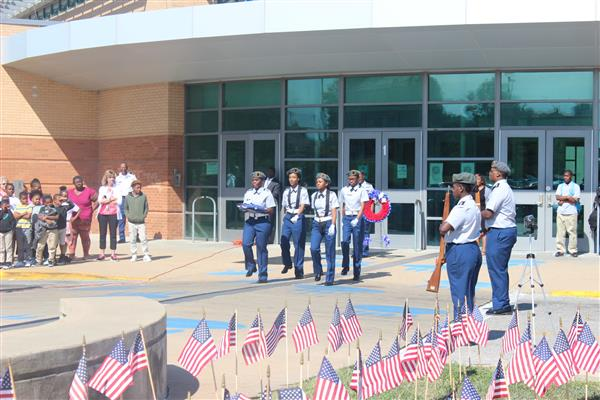 SLPS Honors 16th Anniversary of Remembrance on Patriot Day