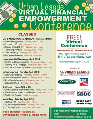 Urban League Virtual Financial Empowerment Conference