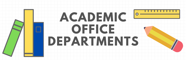 Academic Office Departments