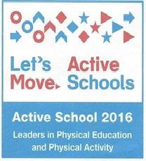 Woodward Elementary Receives 2016 Let's Move! Active Schools  National Award