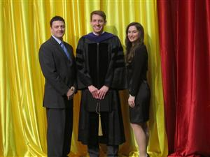 Honorary Guest to UMSL Commencement Ceremony with Missouri's Secretary of State Jason Kander