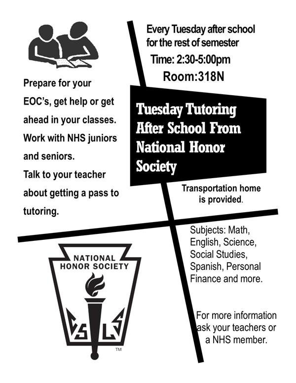 Tutoring in a variety of subjects! Check it out!