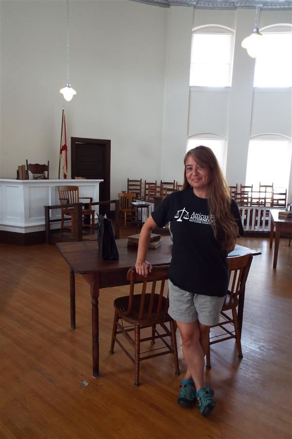 Courthouse in To Kill a Mockingbird in Monroeville, Alabama