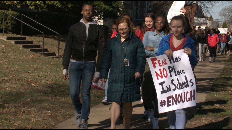 McKinley Students Take a Stand Against Gun Violence