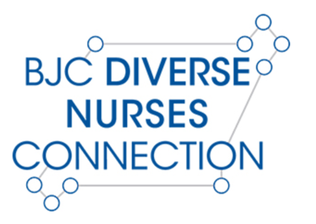 BJC Diverse Nurses Connection members mentoring high school graduates
