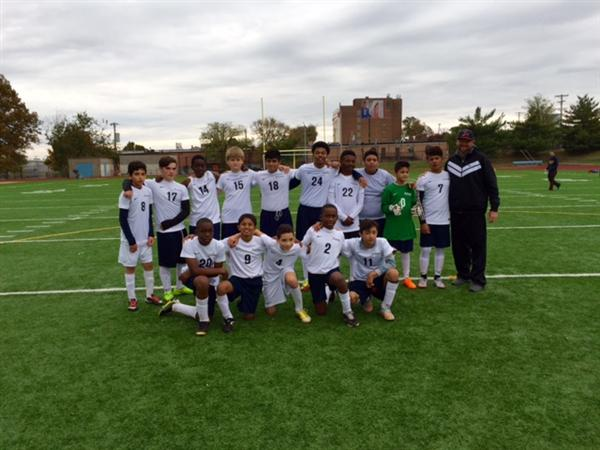 Dolphin Soccer Team Brings Home 1st Place Throphy