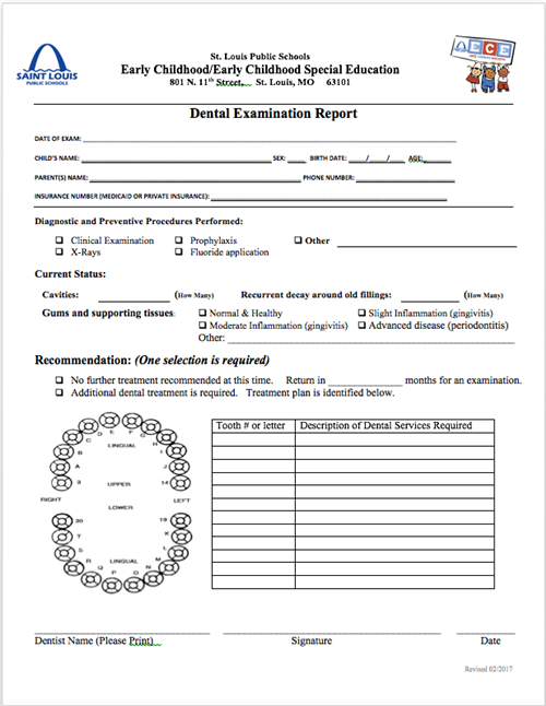 Early Childhood / New Pre-K Forms