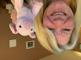 Ms. McDonnell (and her piggy)