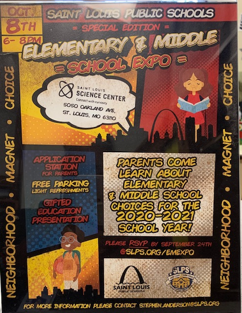SLPS ELEMENTARY & MIDDLE SCHOOL EXPO
