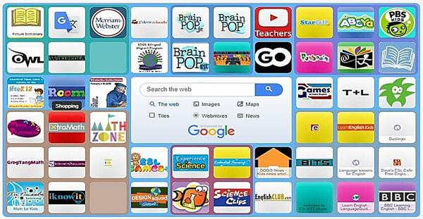 Welcome to ELL Symbaloo