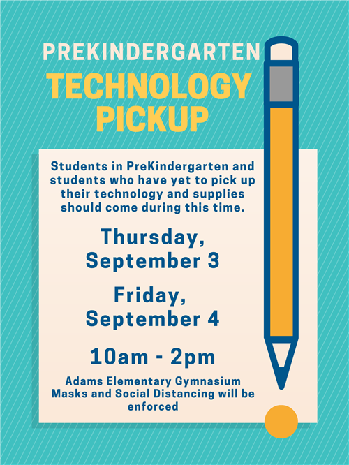 Pre-K Tech Pick-Up