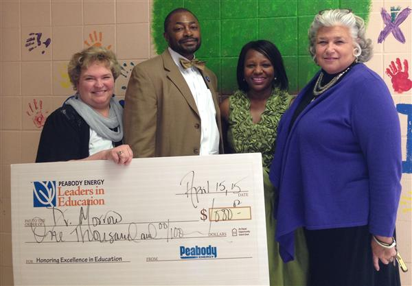 Oak Hill Principal Honored By Peabody Energy