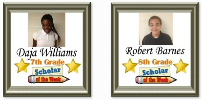 Scholars of the Week