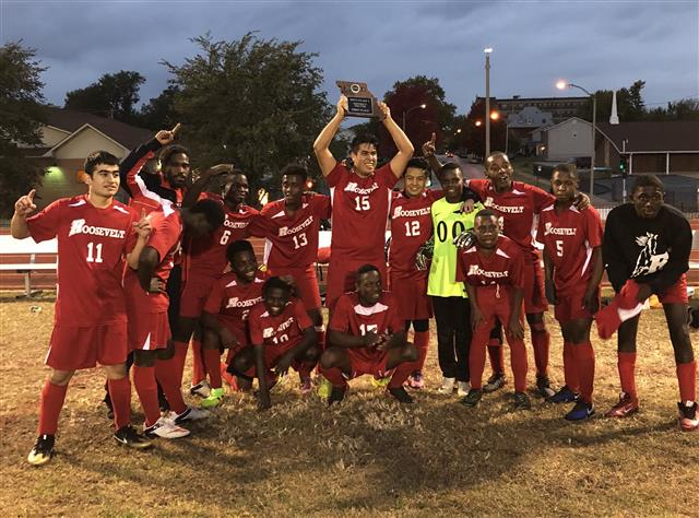 a2cdc4f2023a Roosevelt Boys Soccer makes history in win over Cardinal Ritter.
