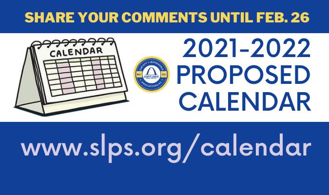 Slps Calendar 2021 Saint Louis Public Schools / Homepage