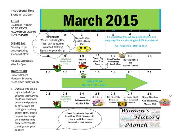 See What's Happening This Month @ Lexington