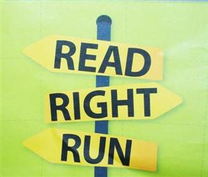 Read, Right and Run