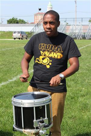 Drummer from CVPA